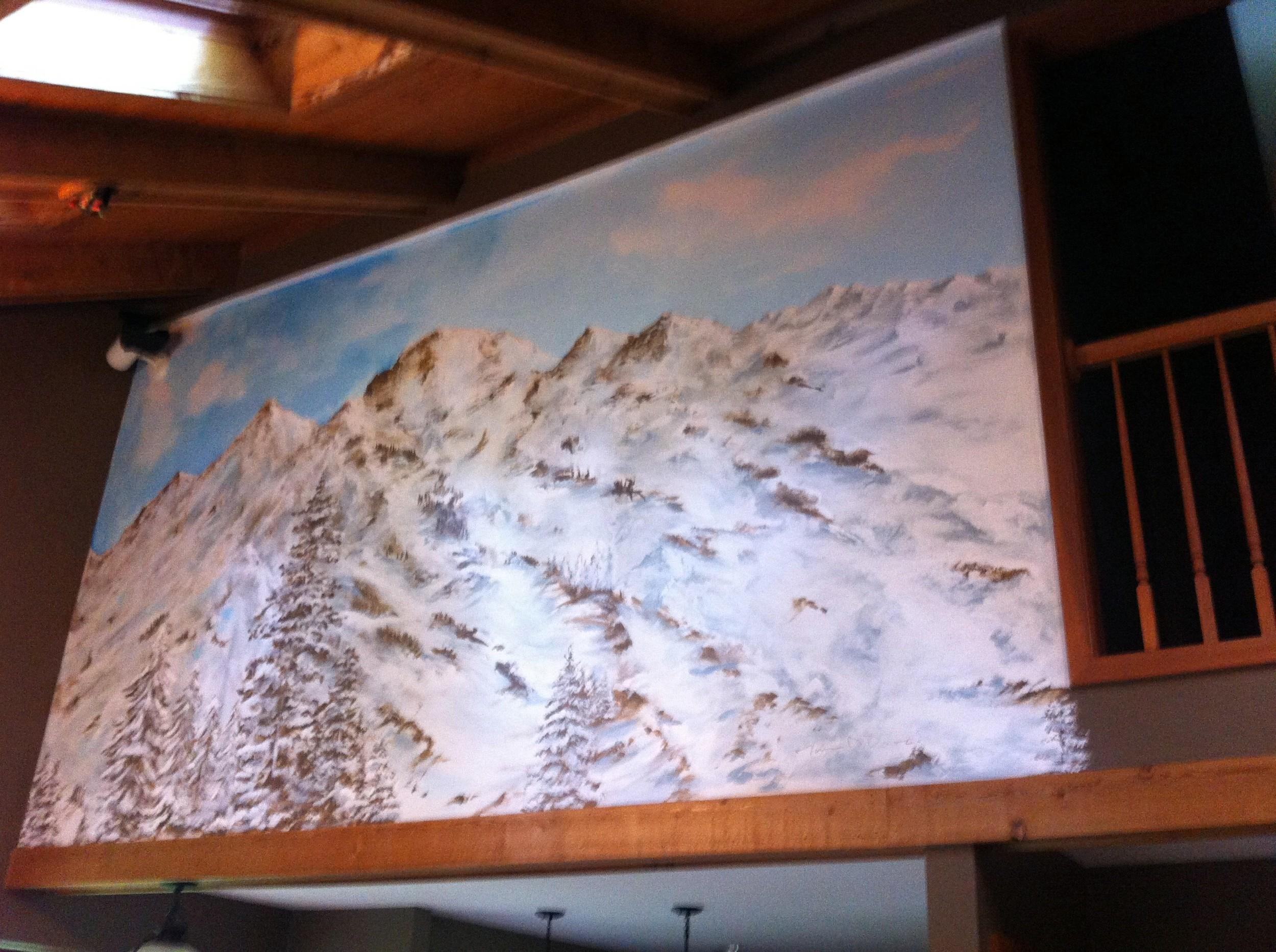 Colorado Mountain Mural