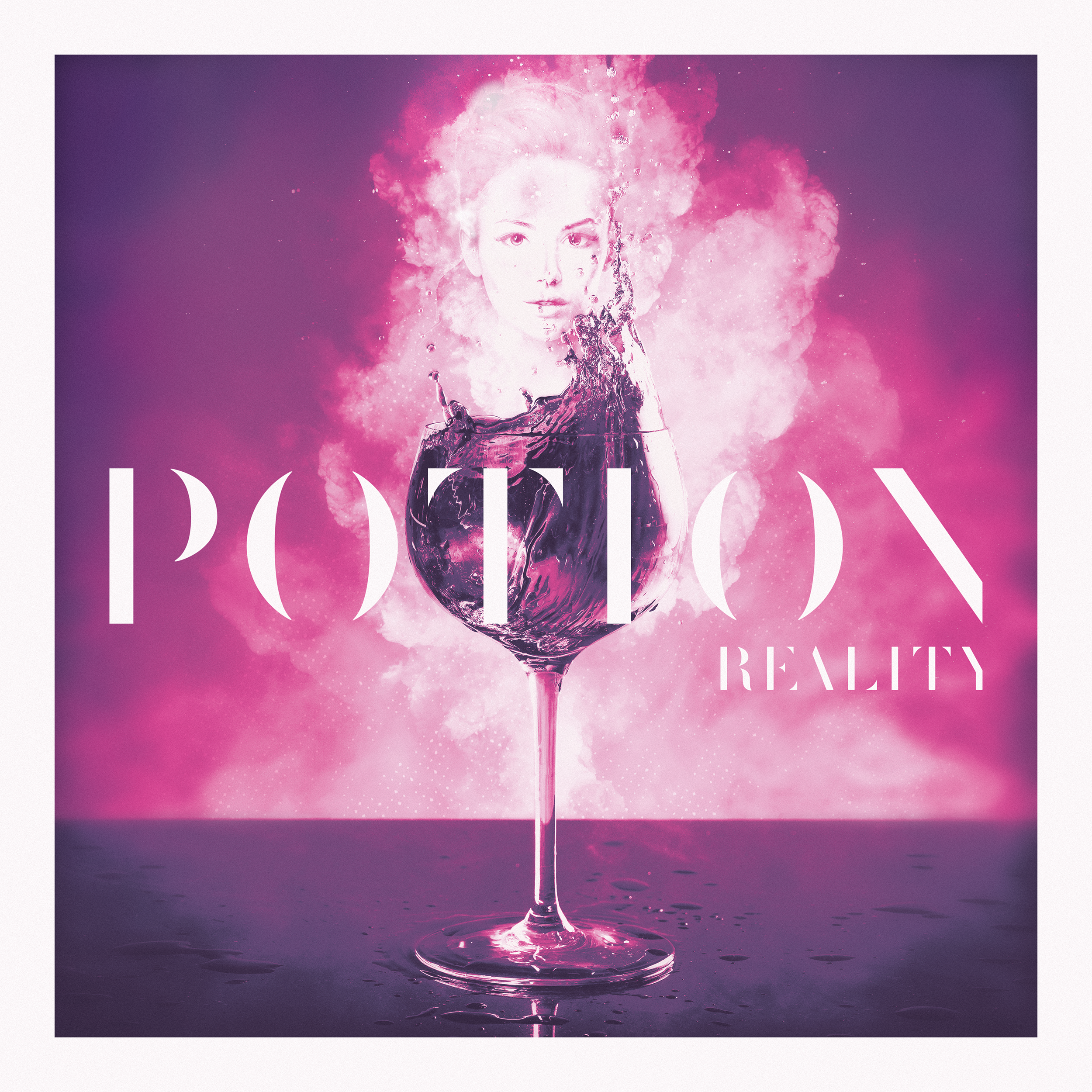 """Potion"" Mixtape, by Reality. Artwork designed by Nick DePalo of  Empirical Designs ."