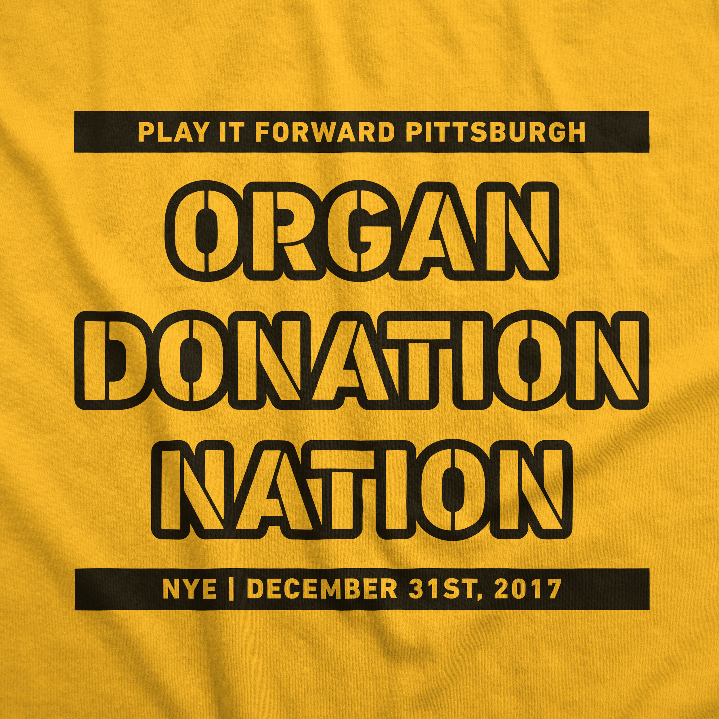 Play It Forward Pittsburgh - Prizeo Charity Campaign Promotional T-ShirtPart of Pittsburgh Steelers Meet & Greet Prize
