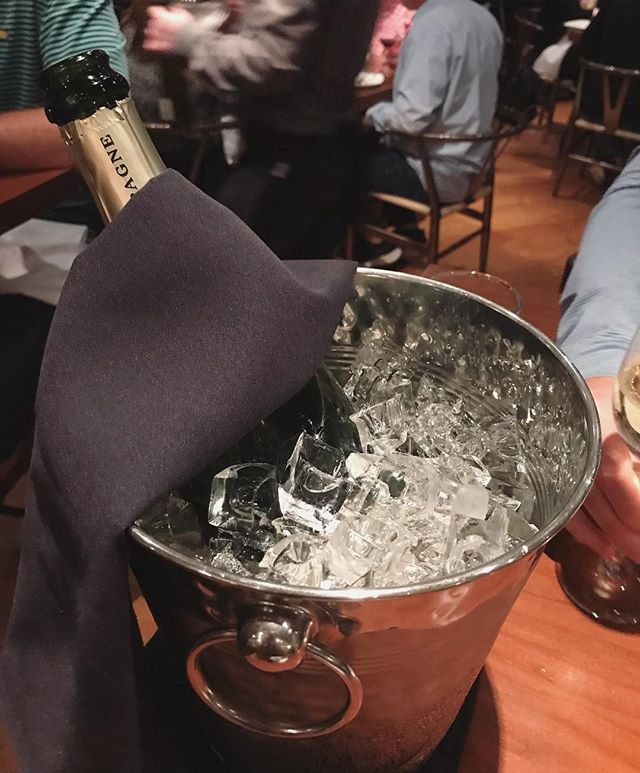 Celebrating #ChampagneDay the best way we know how... @corkbuzzclt