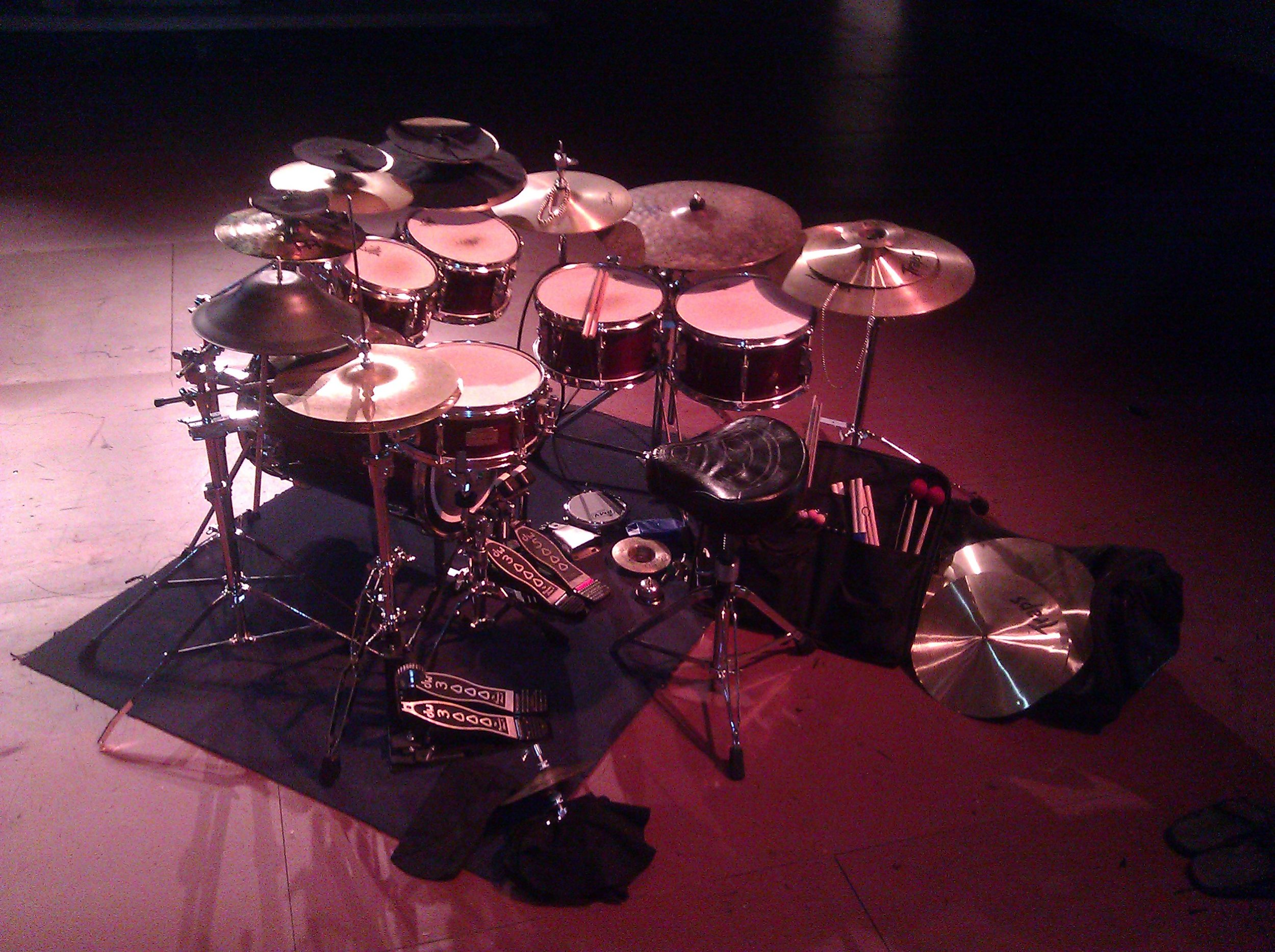 Irondale Center, Soundpainting Performance for 3 Percussionists