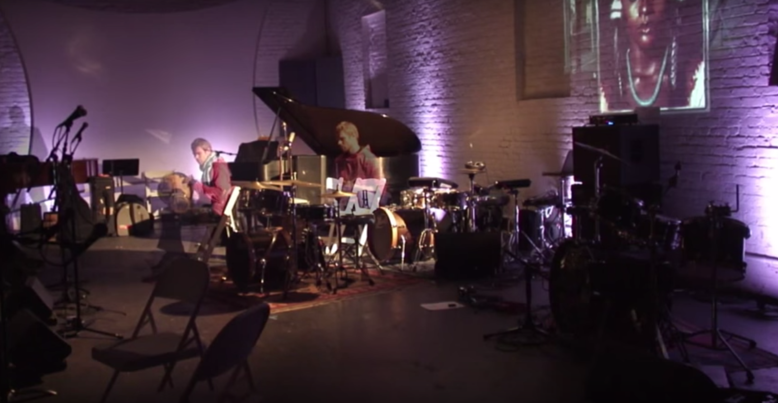 Solo Drum Performance: Shapeshifter Lab, Brooklyn, NY, 2014