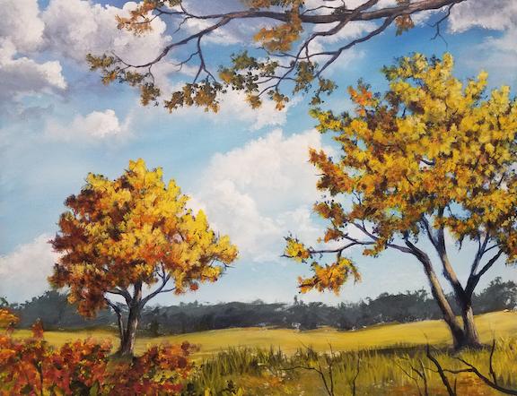 Autumn Landscape Lesson #1