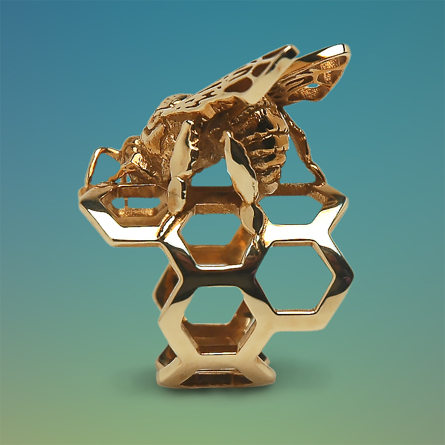 Western Honey Bee Ring