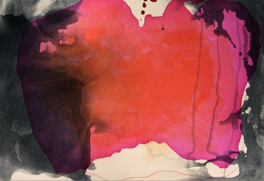 Helen Frankenthaler, Causeway, 2001, etching and aquatint