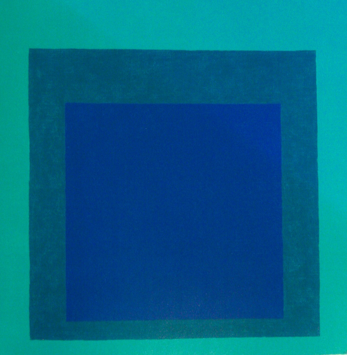 Josef Albers, Homage to the Square, 1976, oil on canvas