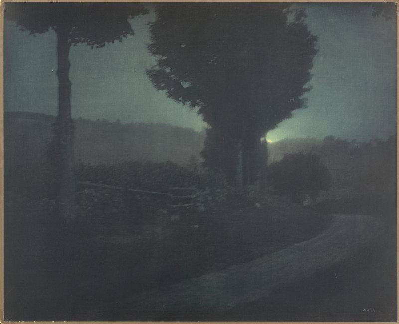 Edward Steichen, Midnight, Lake George, 1904, gum bichromate over platinum print