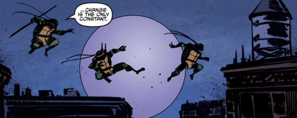 Ninja Mutant Turtles...masters of change?