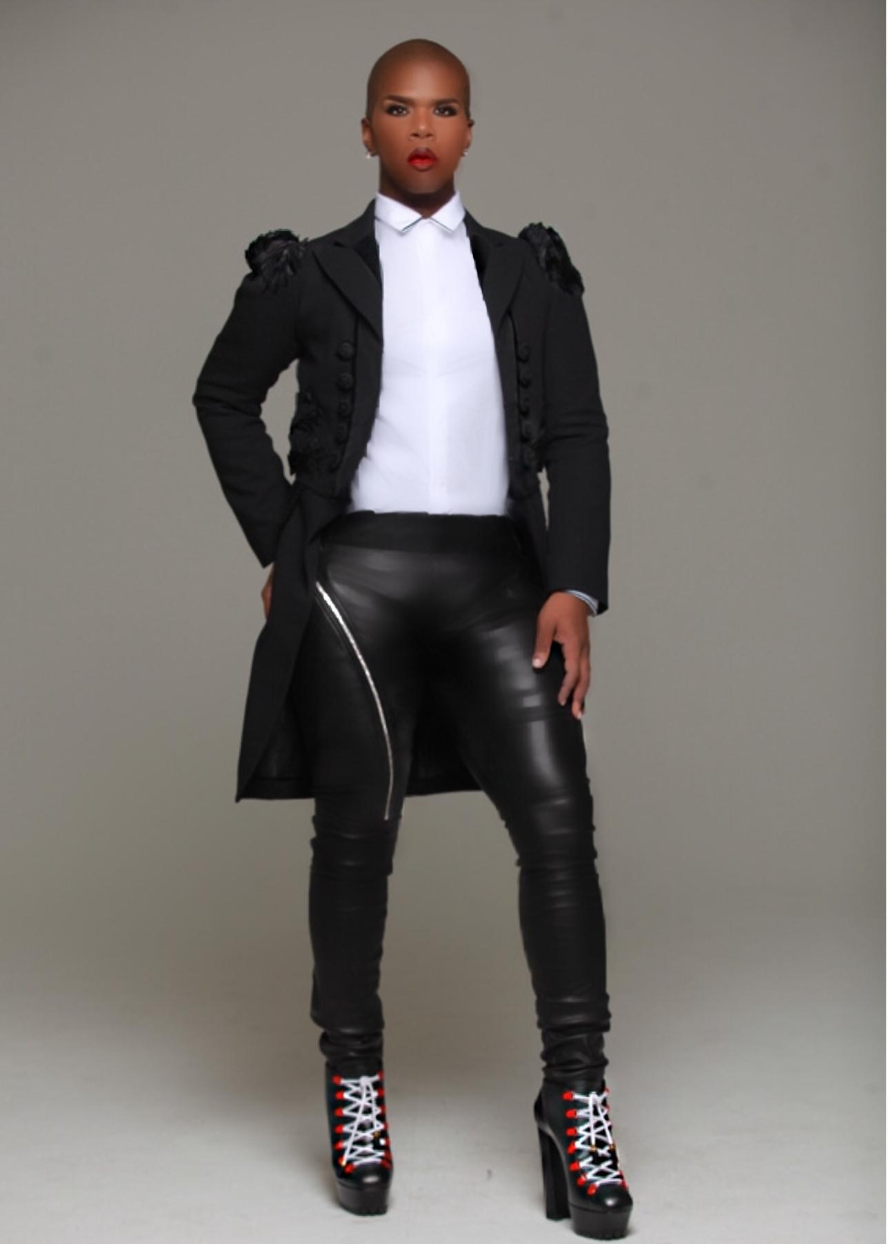 Lawrence in black leather.jpg