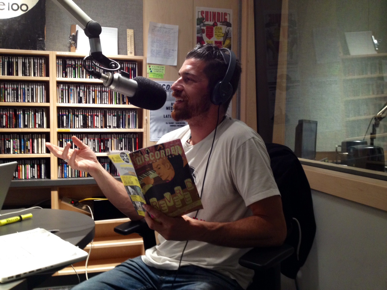 Hosting Discorder Radio on CiTR 101.9 FM