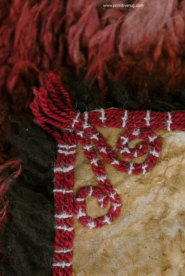 Kirghiz Rams Horn Detail
