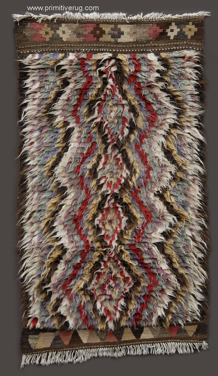 Kurdish rug North West Persia