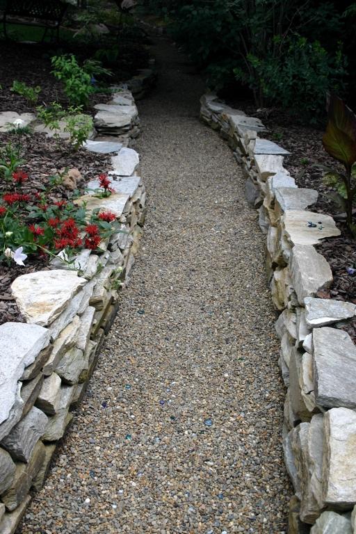 Stone Wall & Path