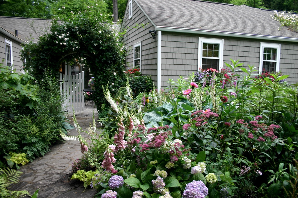Sophisticated and mature landscape beds can improve home values significantly.