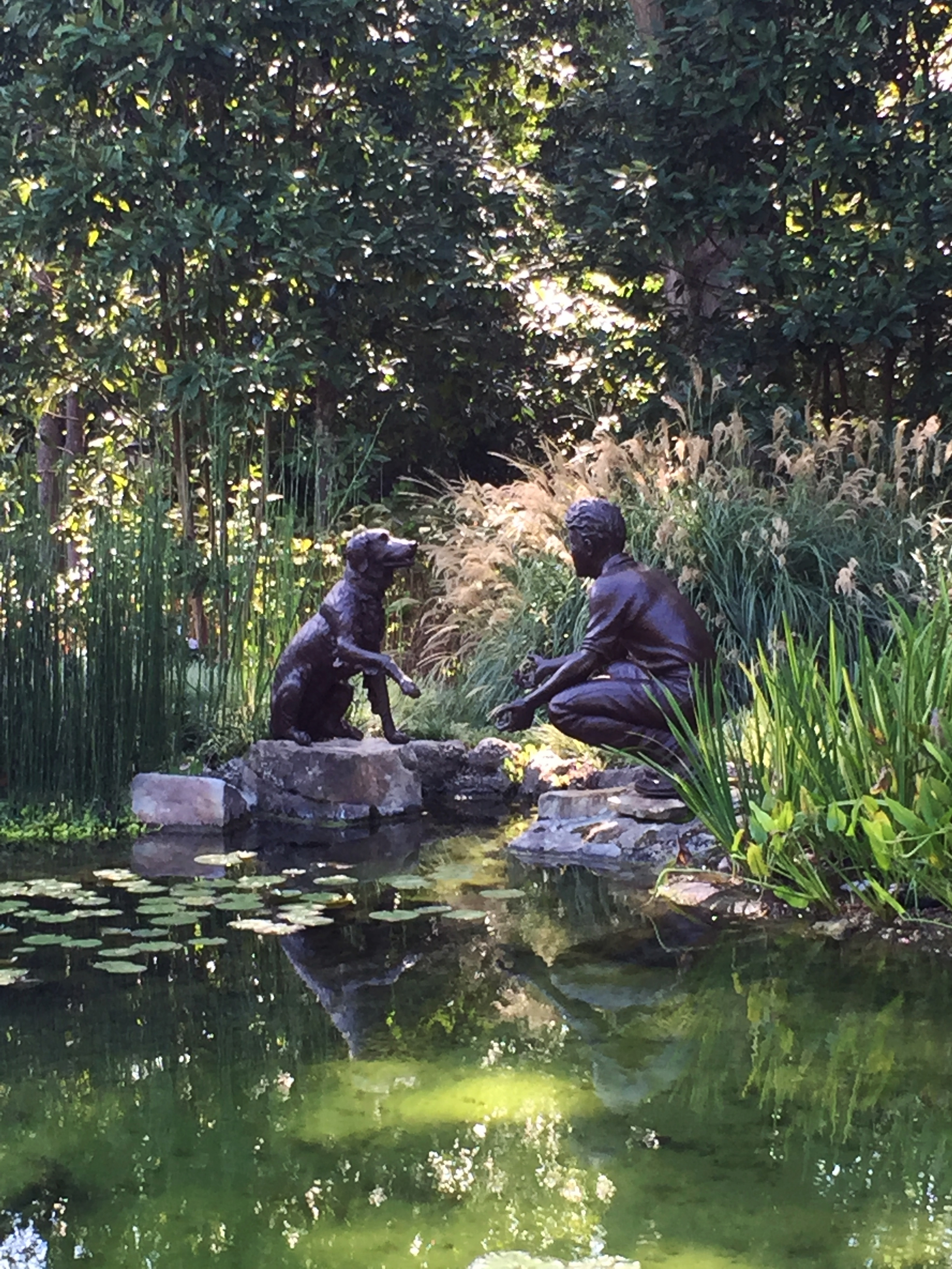 """Art is big in the gardens, big as in popular and big as in """"big."""""""