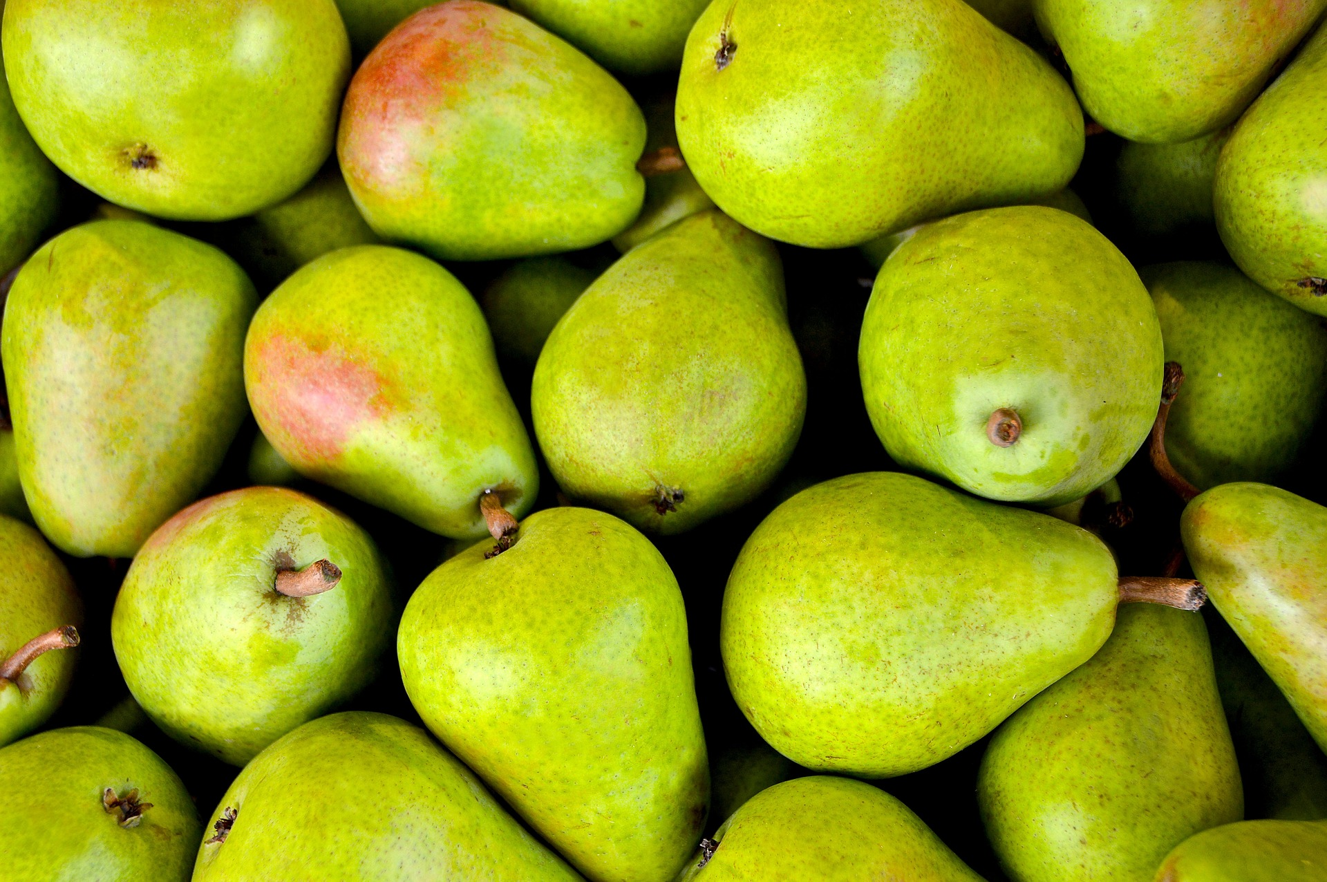 Pears  are tasty and good for you. They contain vitamins A, B1, B2, C, E, folate and niacin. Skip the vitamins, get outdoors and grow a pear tree, or two.