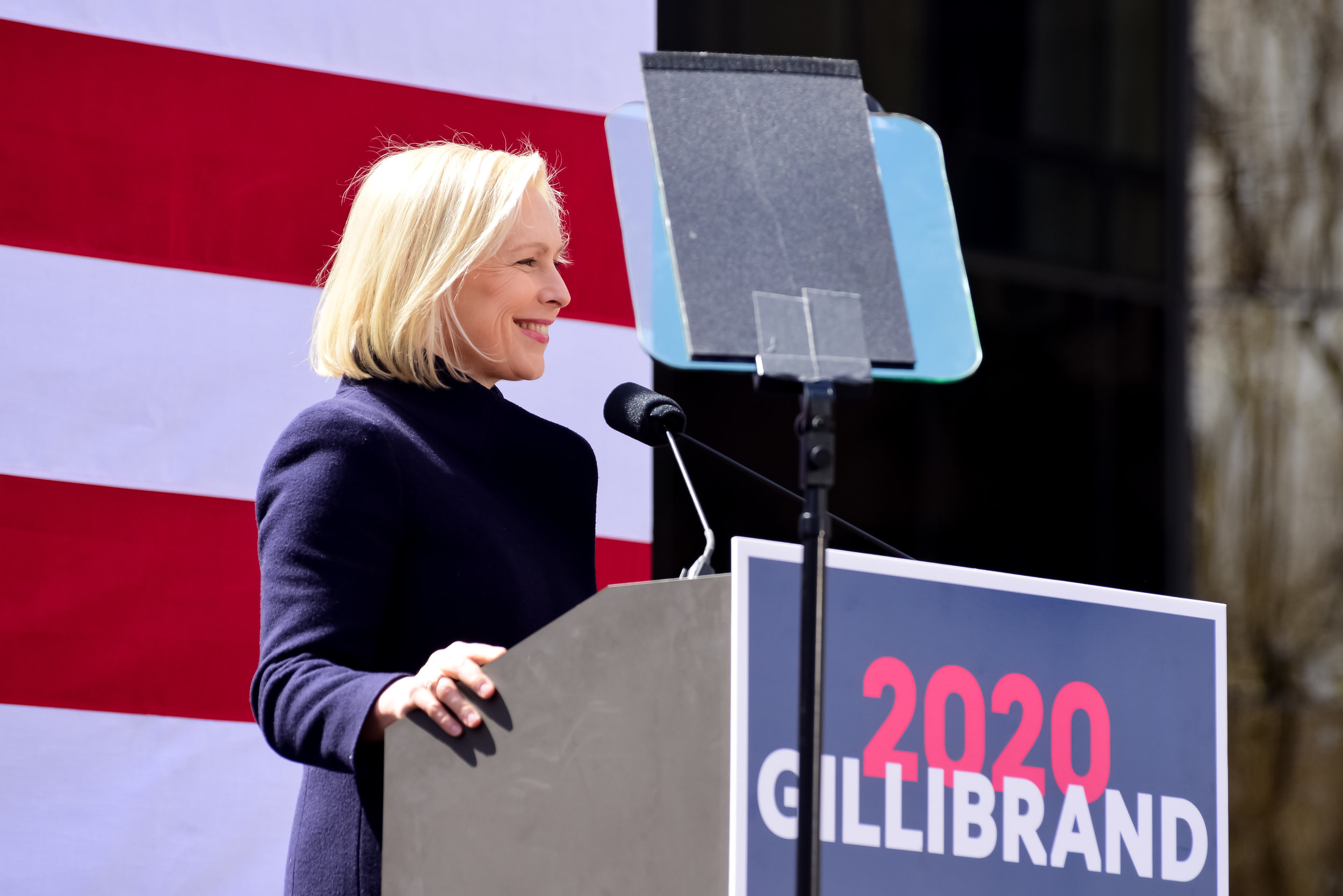 GILLIBRAND 2020 RALLY, NEW YORK, 2019