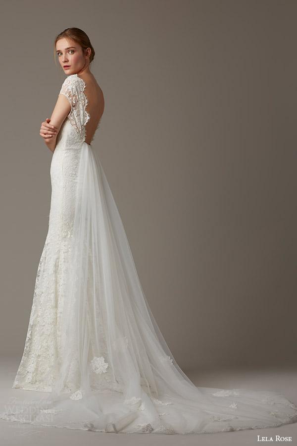Lela Rose Gown via Wedding Inspirasi