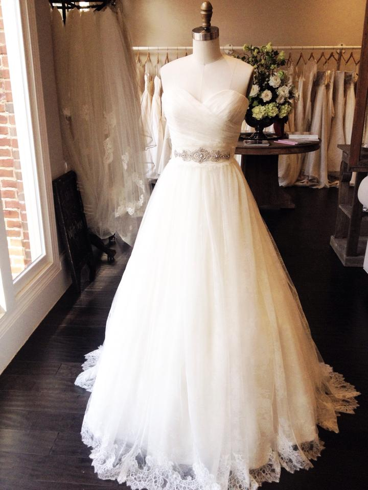 Ada at our Huntsville Bridal Shop.