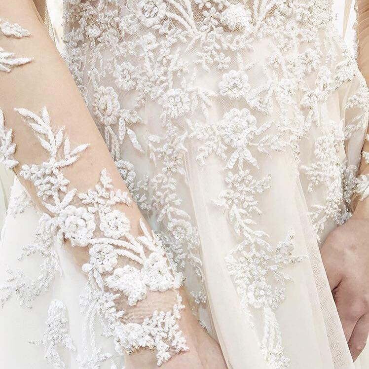 Martina Liana Bridal. Photo via Maggie Louise.