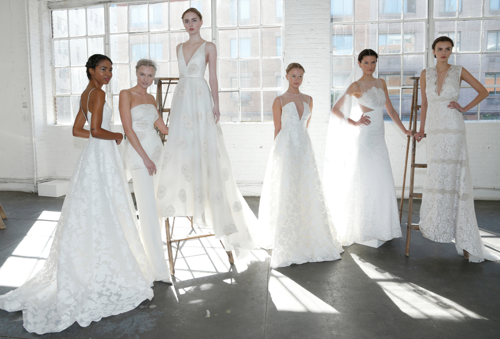 Lela Rose Bridal Gowns.