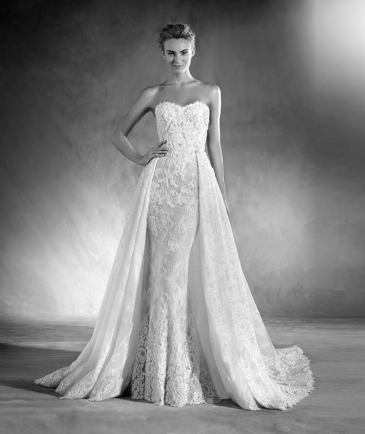 Edith via Pronovias.