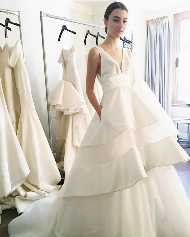 Gown by Austin Scarlett |Photo via White Dresses Nashville (iPhone Photo)