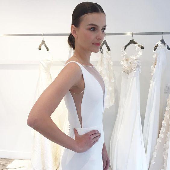 Gown by Lela Rose | Photo via Alexia's Bridal.