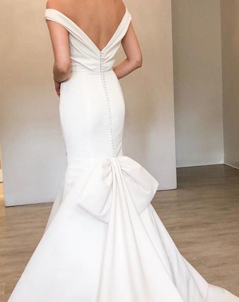 Gown by Allison Webb.