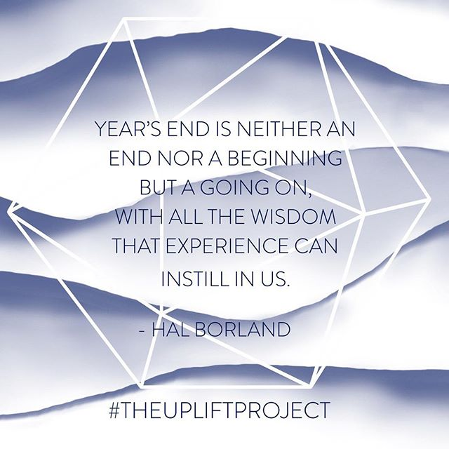 This New Year equals new opportunities for boundary-pushing experiences, accessing deeper wisdom and reaching new heights of personal growth. #halborland #theupliftproject