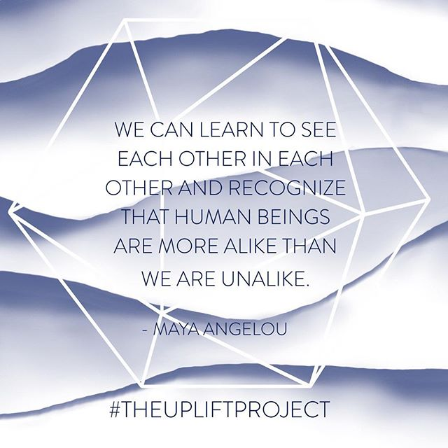 Remembering #MayaAngelou on her birthday today. #theupliftproject