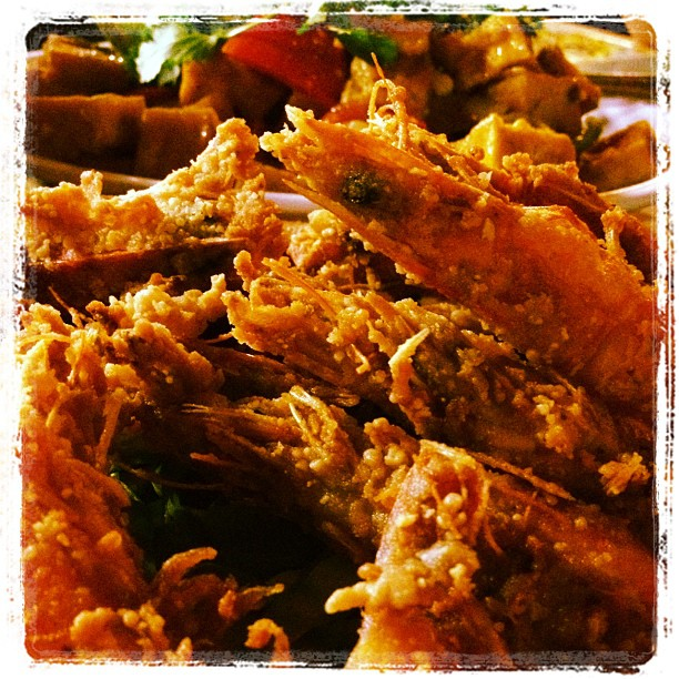 Crispy Garlic Shrimp