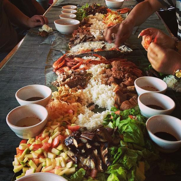 Kamayan coming soon!! #kamayan #villamanila #filipinofood