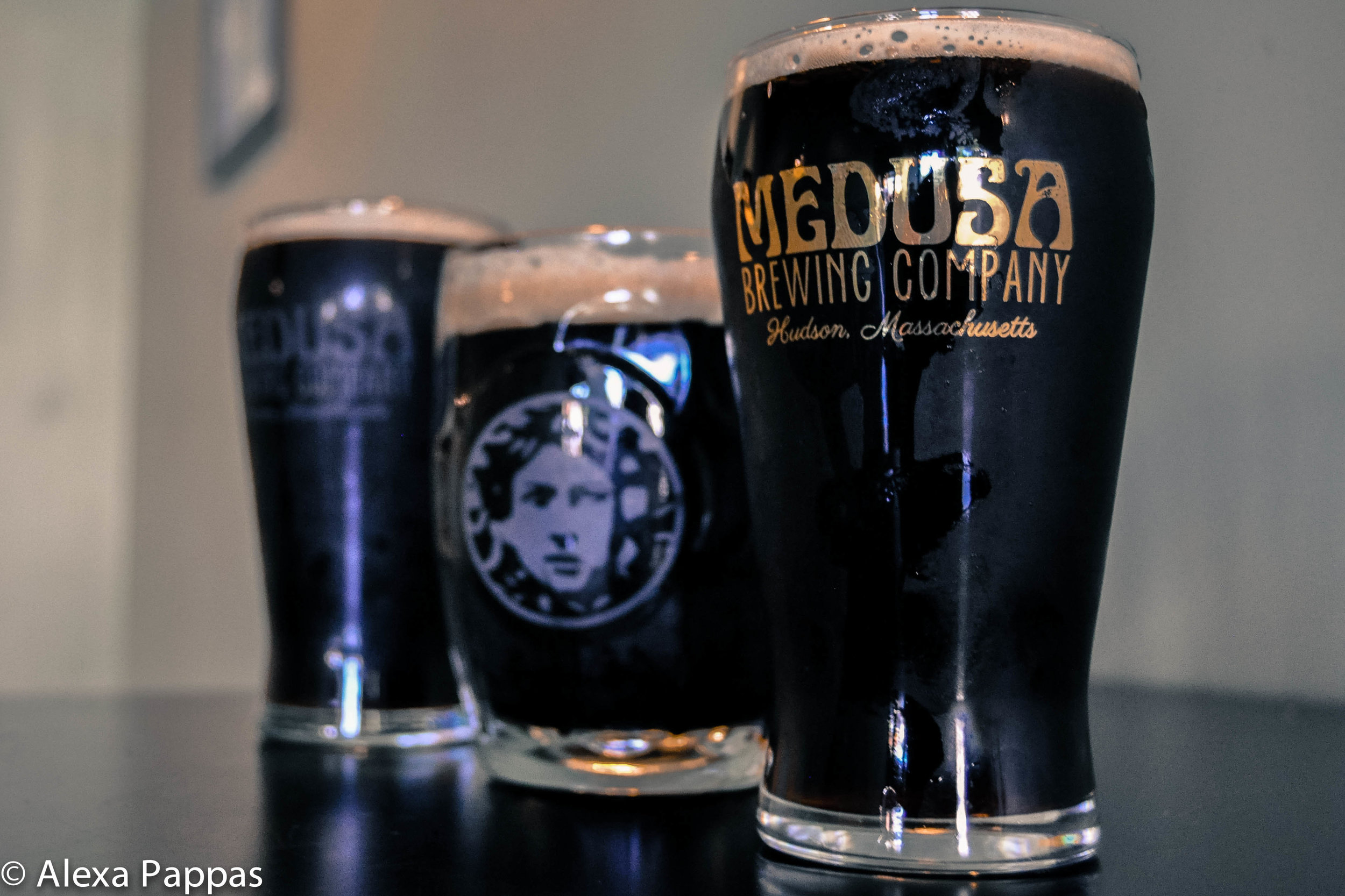 A Milk (or sweet) Stout was brewed at Medusa Brewing Company for the inaugural batch of Black Ale Project.  Photo by Alexa Pappas