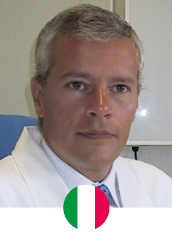 Prof. Fabio Santanelli di Pompeo was born in Naples and currently practices in Rome, Italy. From 2001 he holds the Chair of Plastic Surgery at University Sapienza of Rome, where he runs the University program for the Board in Plastic Surgery, and from 2003 is Head of Plastic Surgery Department at Sant'Andrea Hospital in Rome.