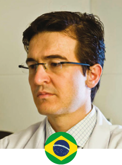 Dr. Leandro Pellarin is a graduate of the Medical School of the University of São Paulo (USP). His perfectionism and admiration for harmonic forms made him choose Plastic Surgery as a specialty. The interest in complex cases, as well as the search for details, led him to dedicate himself to Repairing Plastic Surgery, especially for oncology patients who suffered serious accidents.