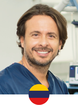 Plastic, Reconstructive, Aesthetic, Maxillofacial and Hand Surgeon at the San Rafael Hospital, graduated from the Juan N Corpas School of Medicine in Bogotá- Colombia. Recognized for being the precursor of Vaser 3D Lipomarking in Colombia and Latin America; National and international Professor of Post-Graduate Plastic Surgery and National and International Professor of Botulinum Toxin and Hyaluronic Acid.