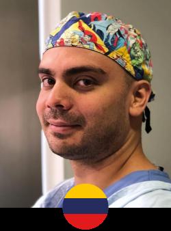 Anestesiólogo y Medico Perioperatorio, egresado de la Fundación Universitaria Sanitas, miembro del comité de seguridad en anestesia para cirugía plástica.