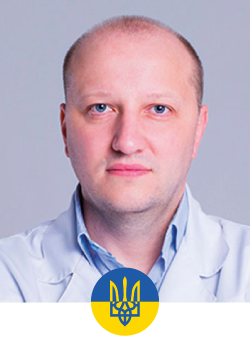 """Chef of plastic and reconstructive surgery department """"Garvis"""" clinic, surgeon of State Oncological Hospital. Member of ISAPS (International Society of Aesthetic Plastic Surgeons), USAPS (Ukrainian Society of Aesthetic Plastic Surgeons). Co-organizer Ukrainian Breast Center. Organizer UBM (Ukrainian Breast Meeting). Field of expertise: aesthetic breast surgery, reconstructive microsurgery, oncoplasty, lymphatic surgery."""