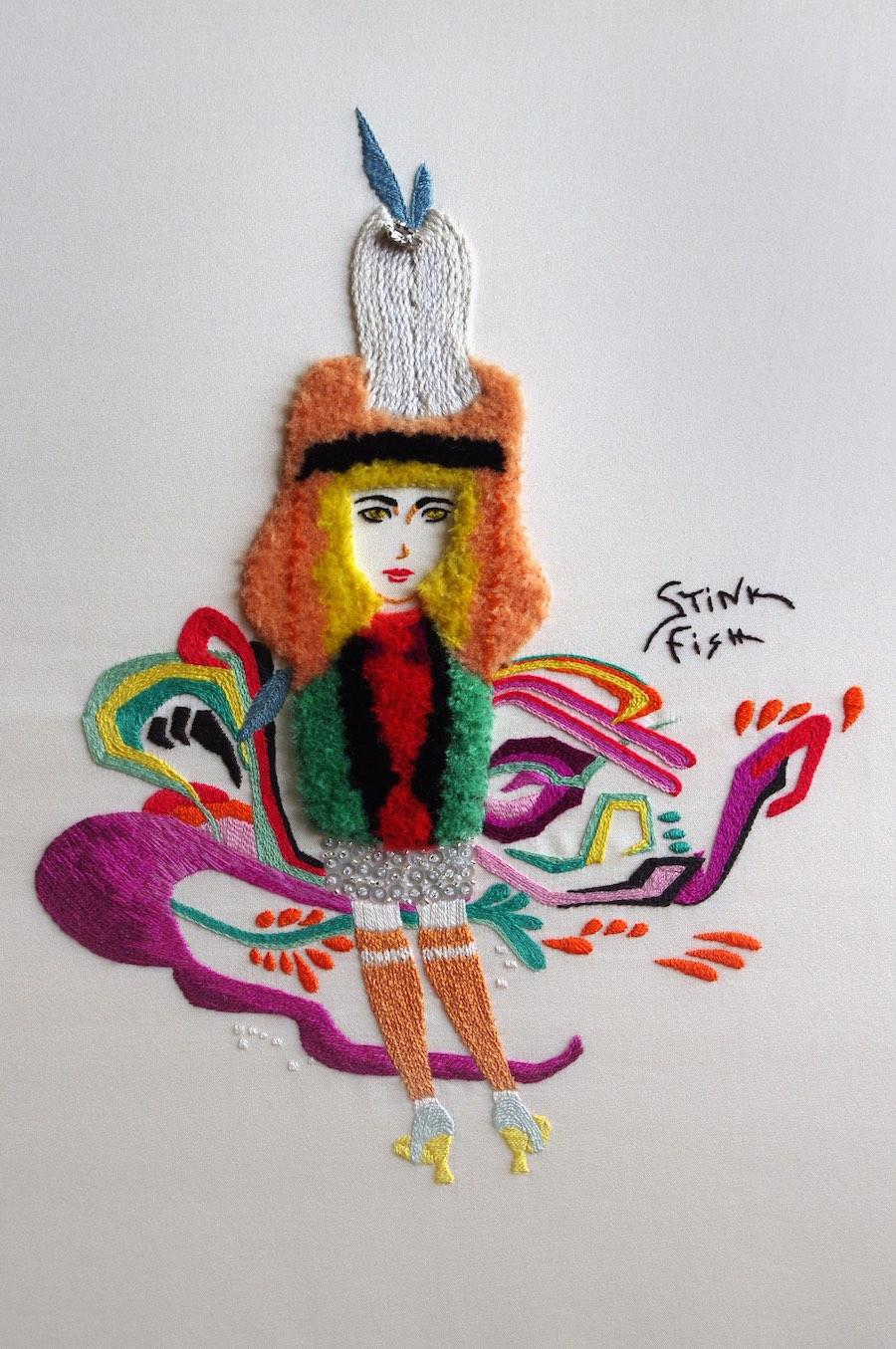 Mary Brown - Homage to Prada & Stinkfish