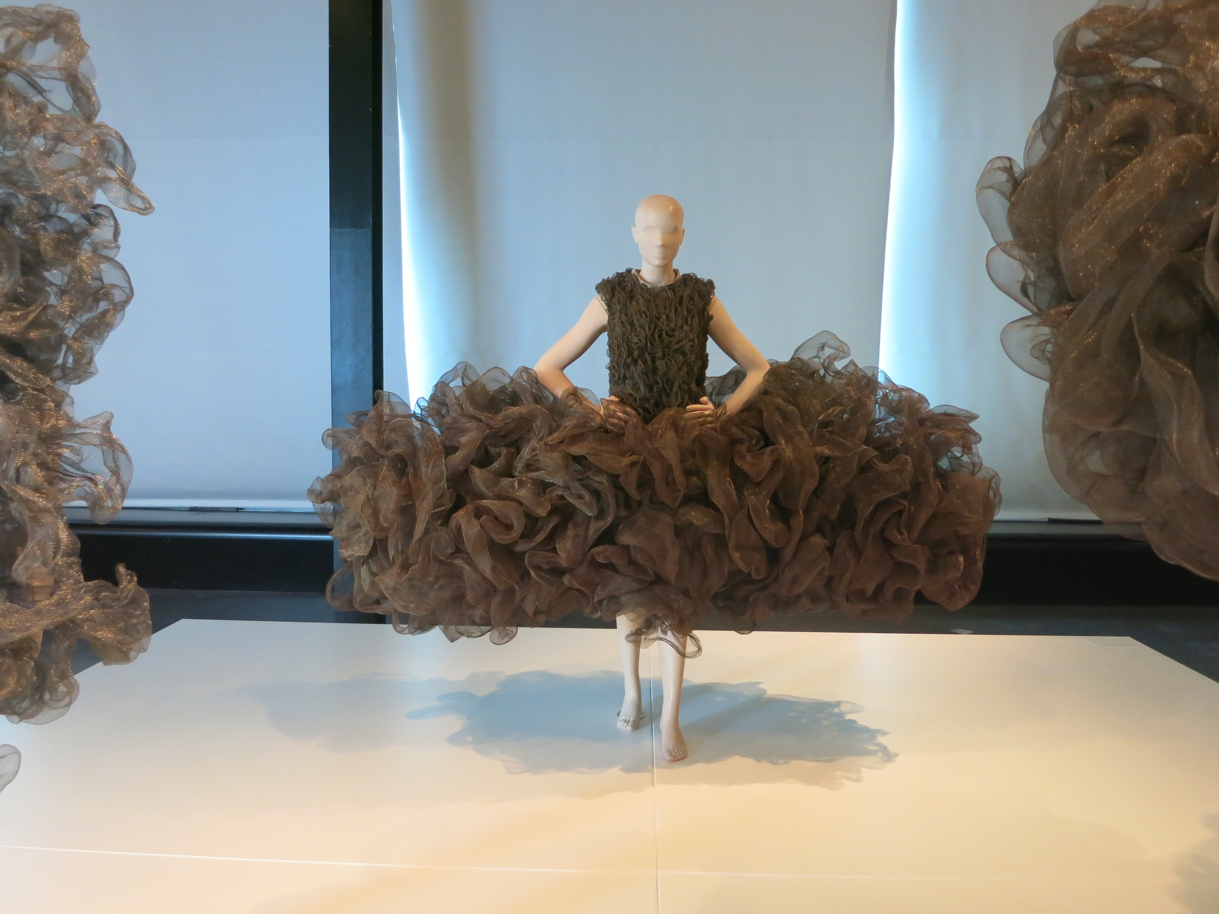 Iris van Herpen exhibition at the Calais Lace Museum 2013 - 'REFINERY SMOKE' 2008