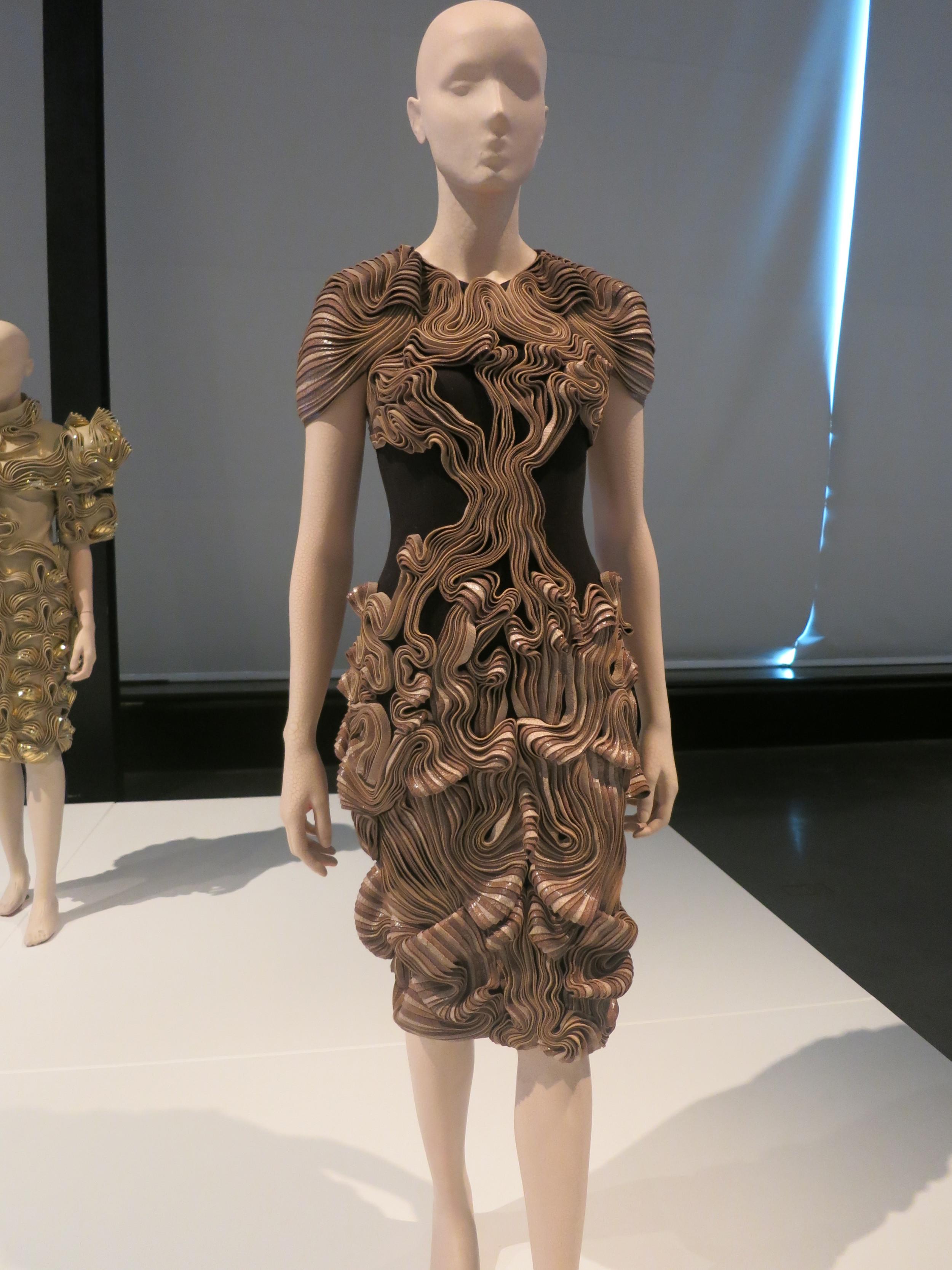 Iris van Herpen exhibition at Calais Lace Museum 2013 - 'RADIATION INVASION' 2009