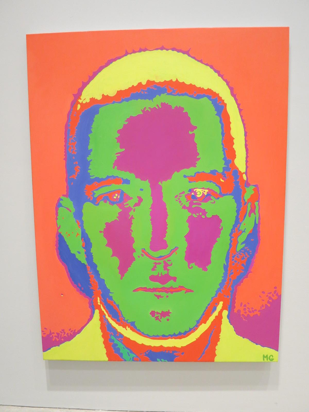 Mattys Gerber's 'Self portrait' 2002