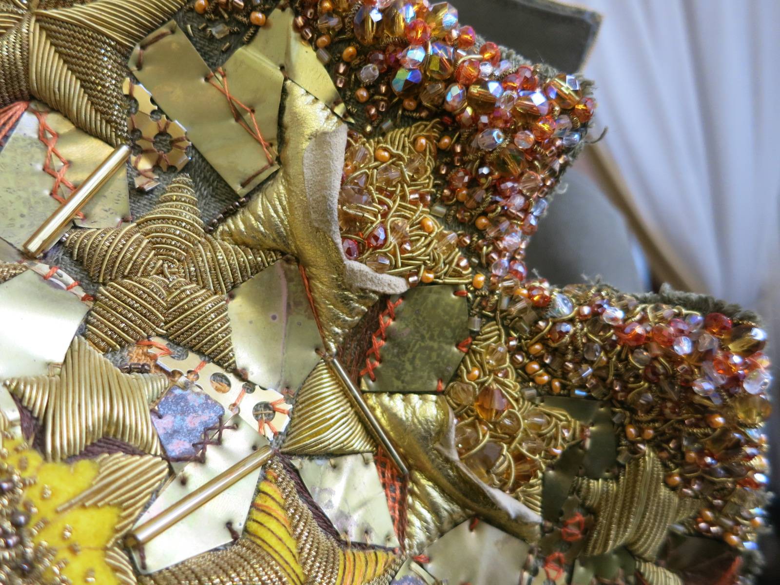 A detail of Elena Ciarrocchi's entry for the Hand & Lock Prize