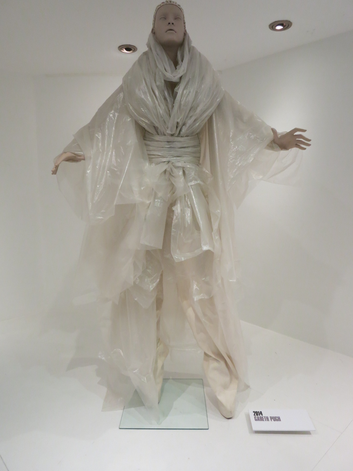 'Dress of the Year' Bath Fashion Museum - Gareth Pugh's plastic ensemble was Katie Grand's (editor-in-chief of LOVE' magazine) choice for 2014.