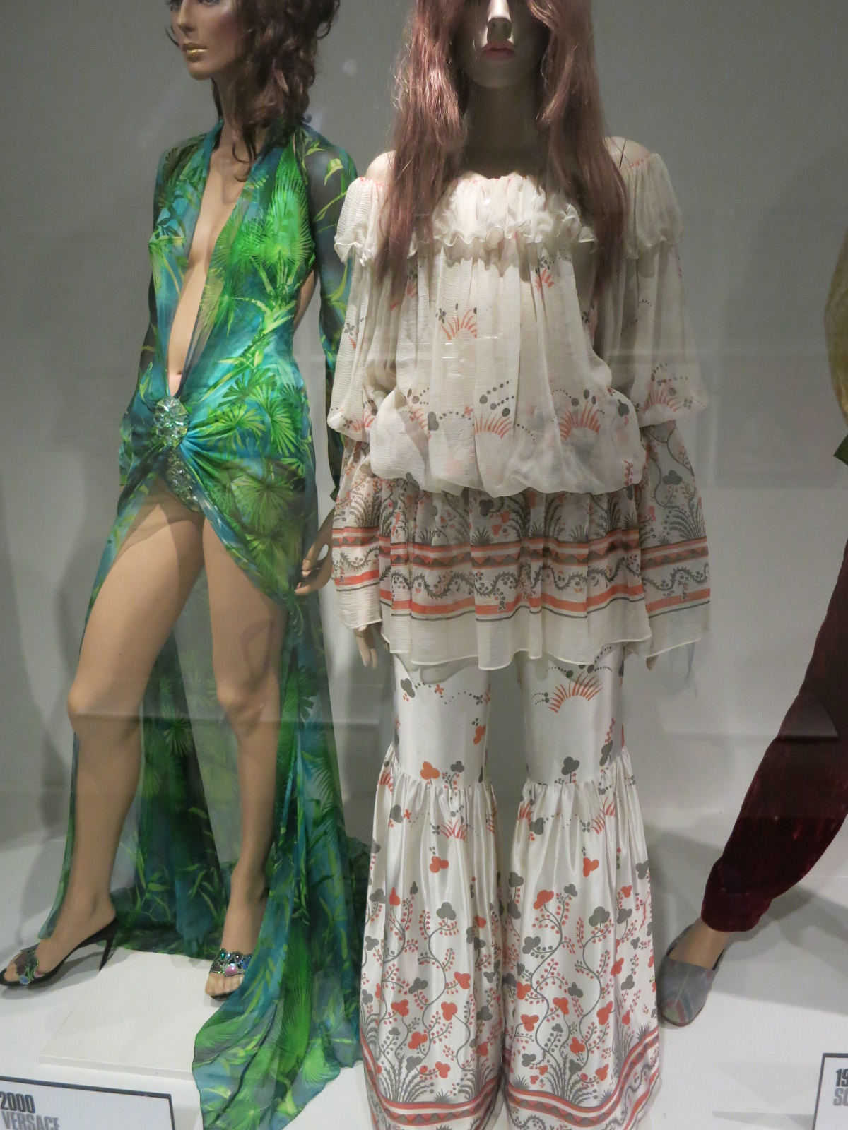 'Dress of the Year' Bath Fashion Museum - Ossie Clerk & Celia Birtwell's ensemble was 'Dress of the Year' in 1969