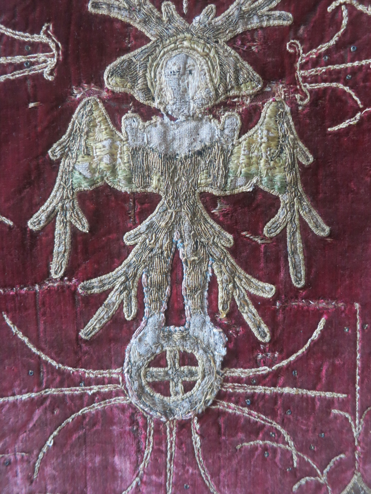 A Seraphim on the velvet of the Skenfrith Cope