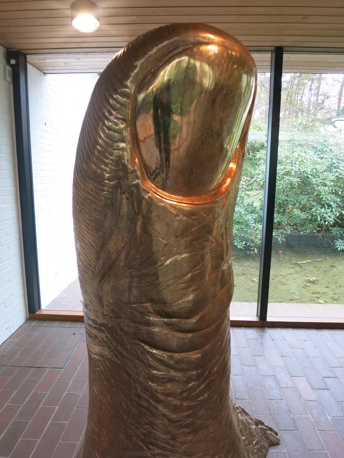 Louisiana Museum of Modern Art, Humlebaek, Denmark. Cesar's 'La Grande Puce' 1968