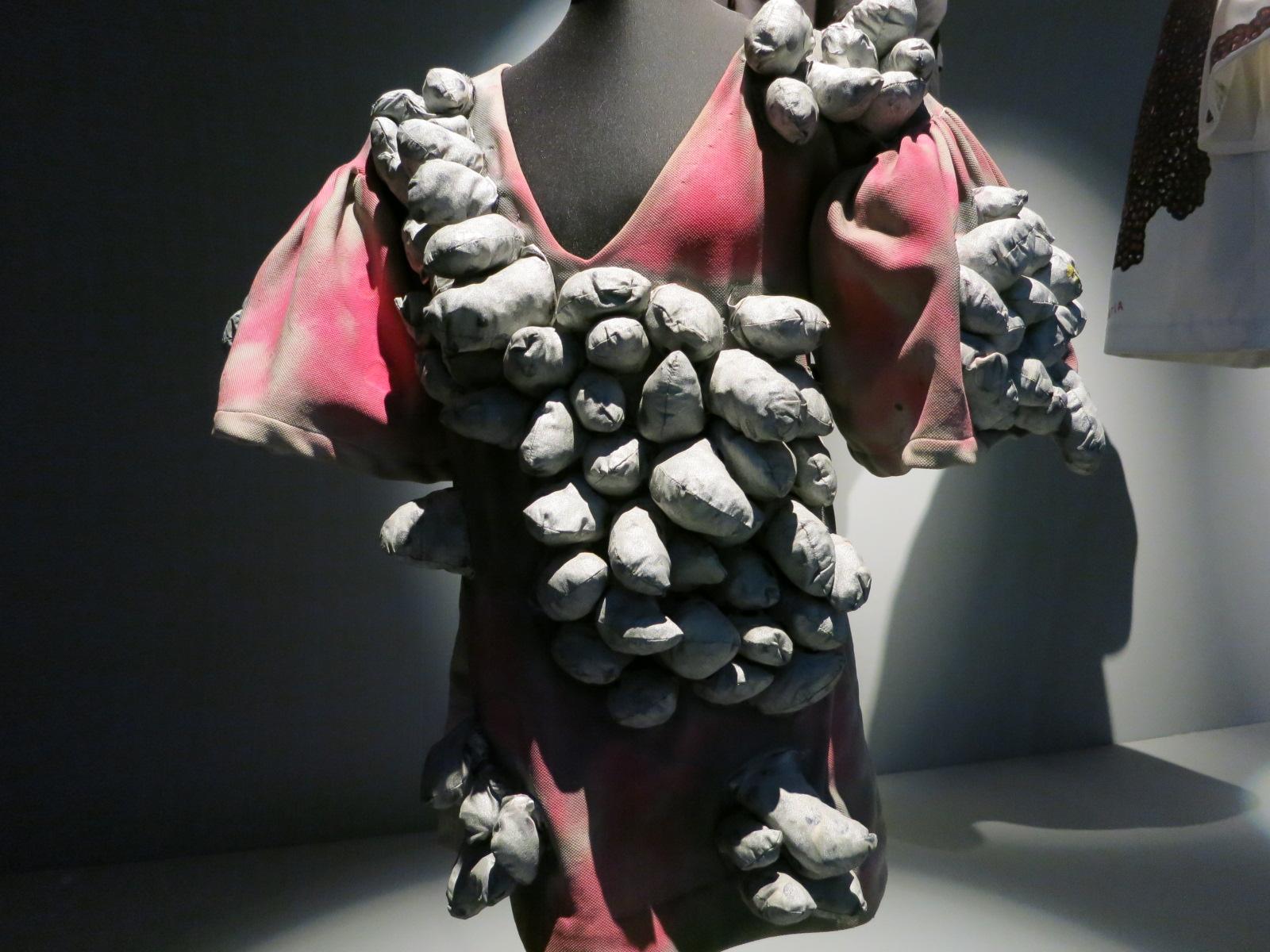 Yayoi Kusama's 'Phallic Dress' 1968