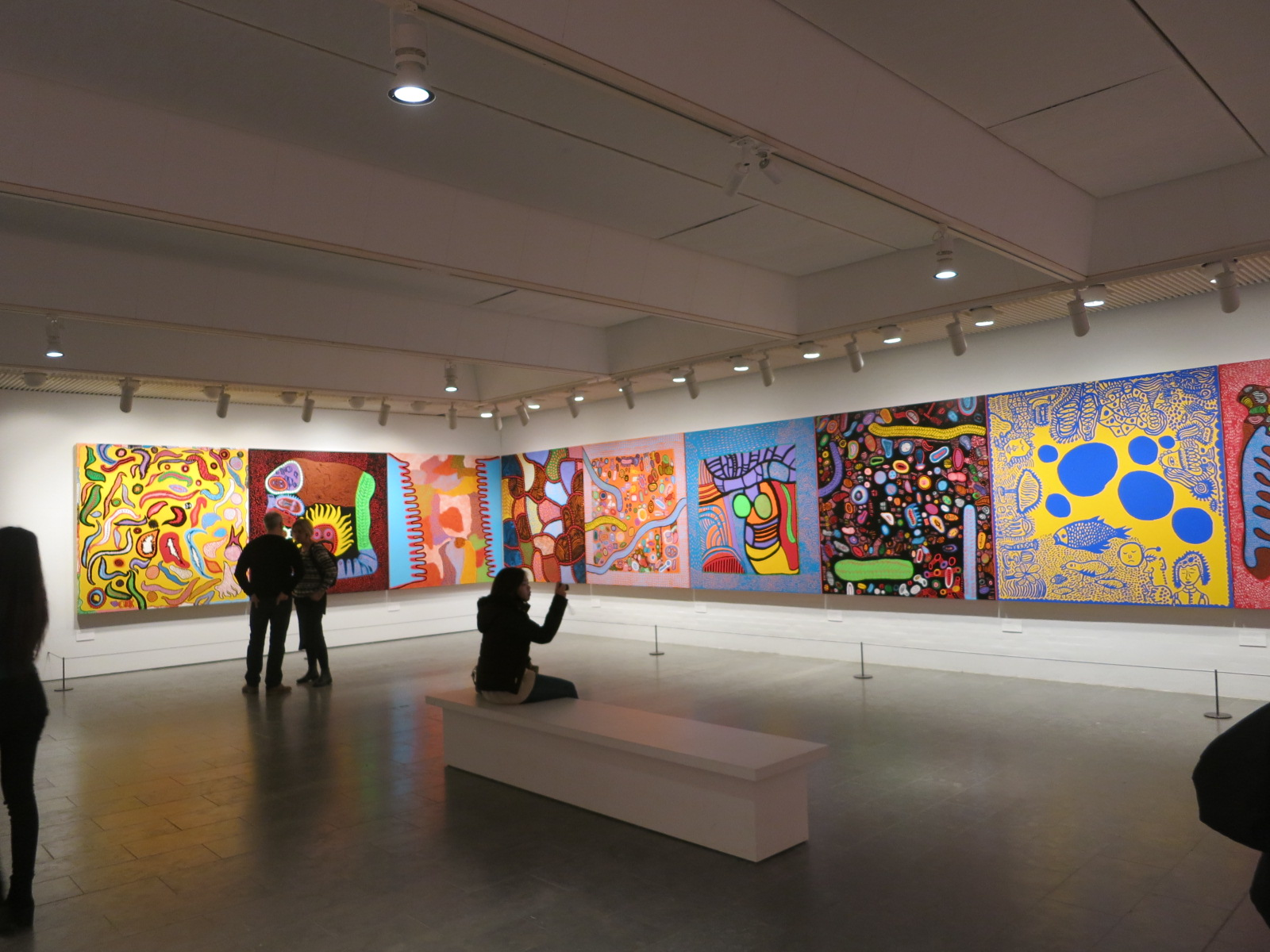 Yayoi Kusama's 'In Infinity' Retrospective exhibition at the Louisiana Museum of Modern Art, Denmark 2015